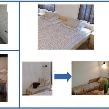 Ninszianna Apartman: egyszobás apartman, 2 (+2) fő